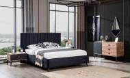 Milano Ceviz Modern Yatak Odası Takımı - Thumbnail