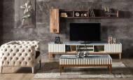 Prada Ekru Modern TV Ünitesi - Thumbnail