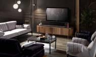 Sandra Ceviz Bronz Modern Tv Ünitesi - Thumbnail
