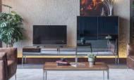 Silver Modern Tv Ünitesi - Thumbnail