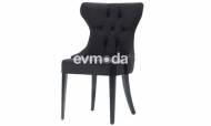 Nepal Siyah Sandalye - Thumbnail