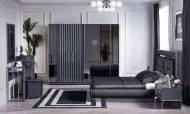 Titanyum Modern Yatak Odası Takımı - Thumbnail