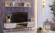 Uludağ Gold Modern Tv Ünitesi - Thumbnail