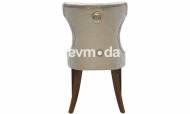 Versace Ceviz Sandalye - Thumbnail