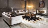 Versace Gold Modern Koltuk Takımı - Thumbnail