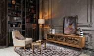 Versace Gold Art Deco Tv Ünitesi - Thumbnail