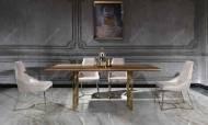 Versace Gold Yemek Odası Takımı - Thumbnail