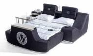 Versace Tv Mekanizmalı + Masajlı Karyola - Thumbnail