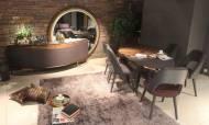 Yarımay Modern Yemek Odası Takımı - Thumbnail