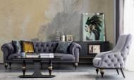 Zeny Art Deco Koltuk Takımı - Thumbnail