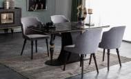 Zeny Art Deco Yemek Odası Takımı - Thumbnail