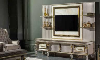 Evmoda Mobilya - Estonya Art Deco Tv Ünitesi