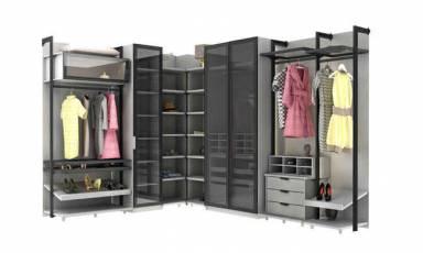 Evmoda Mobilya - Holly V2 Modern Giyinme Odası Takımı