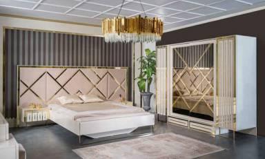 Evmoda Mobilya - Laura Modern Yatak Odası Takımı