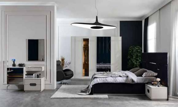 Evmoda Mobilya - Aden Modern Yatak Odası Takımı