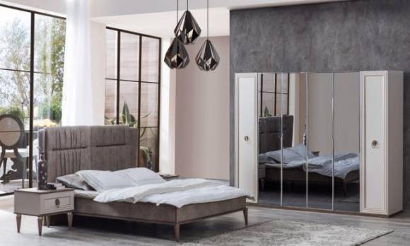 Evmoda Mobilya - Alin Modern Yatak Odası Takımı