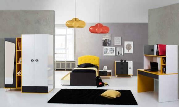Evmoda Mobilya - Arte Modern Genç Odası Takımı