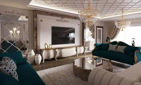 Evmoda Mobilya - Avangarde Salon Takımı Mobilya Projemiz