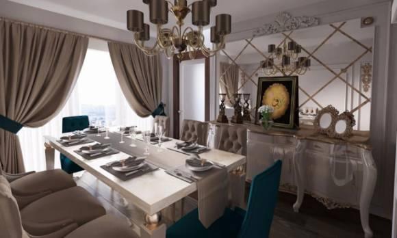 Evmoda Mobilya - Avangarde Yemek Odası Projemiz