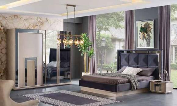 Evmoda Mobilya - Ayaz Modern Yatak Odası Takımı