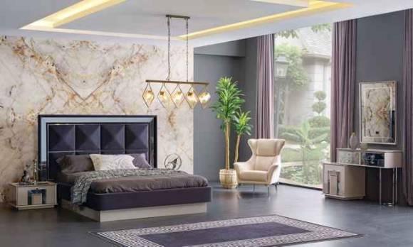 Evmoda Mobilya - Ayaz Modern Yatak Odası Takımı (1)