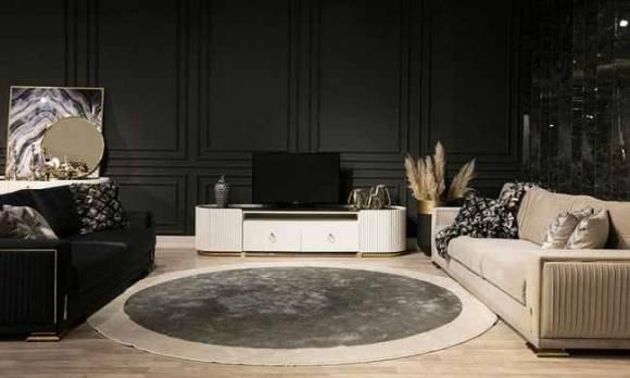 Evmoda Mobilya - Bella Art Deco Tv Ünitesi (1)
