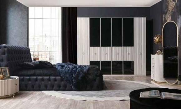 Evmoda Mobilya - Bella Art Deco Yatak Odası Takımı