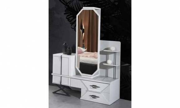 Evmoda Mobilya - Bergamo Şifonyer Ve Aynası