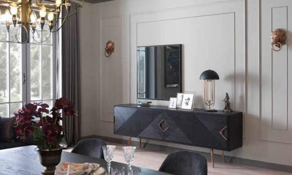 Evmoda Mobilya - Bianca Konsol ve Aynası