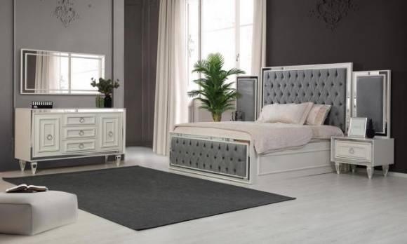 Evmoda Mobilya - Bianco Art Deco Yatak Odası Takımı (1)