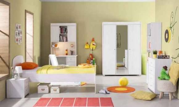 Evmoda Mobilya - Bianco Modern Genç Odası Takımı