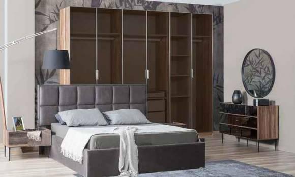 Evmoda Mobilya - Bronze Modern Giyinme Odası (1)