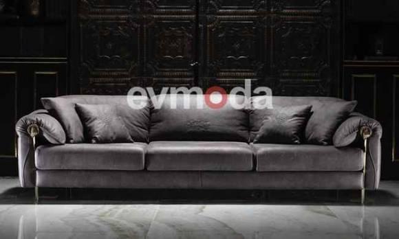 Evmoda Mobilya - Throne Dörtlü Koltuk