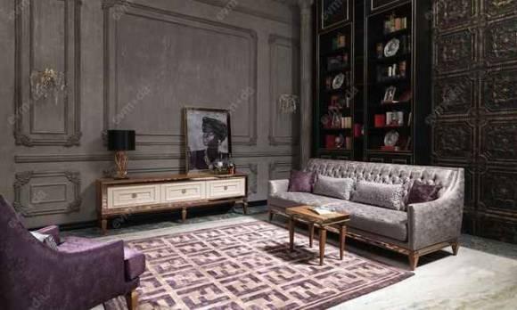 Evmoda Mobilya - Carmen Ceviz Art Deco Tv Ünitesi (1)