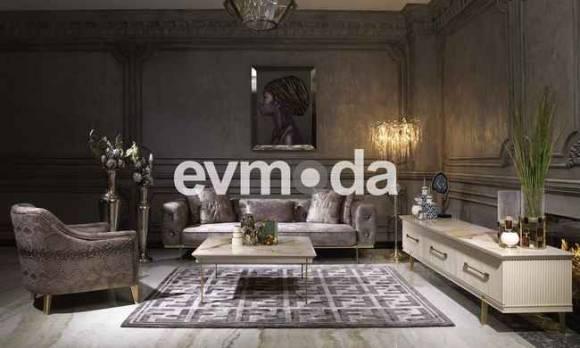 Evmoda Mobilya - Cavalli Art Deco Tv Ünitesi