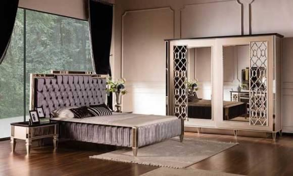 Evmoda Mobilya - Class Art Deco Yatak Odası Takımı