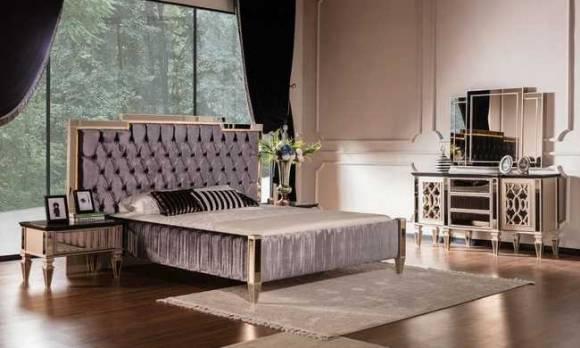 Evmoda Mobilya - Class Art Deco Yatak Odası Takımı (1)
