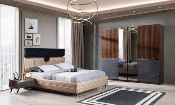 Evmoda Mobilya - Como Modern Yatak Odası Takımı (1)