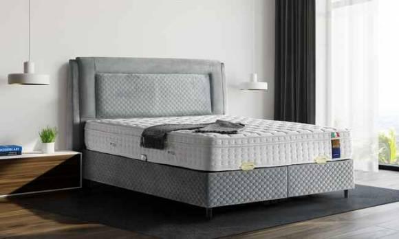 Evmoda Mobilya - Cool Night Yatak Baza Başlık Seti