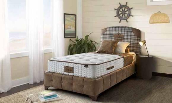 Evmoda Mobilya - Cruise Genç Baza Yatak Başlık Seti