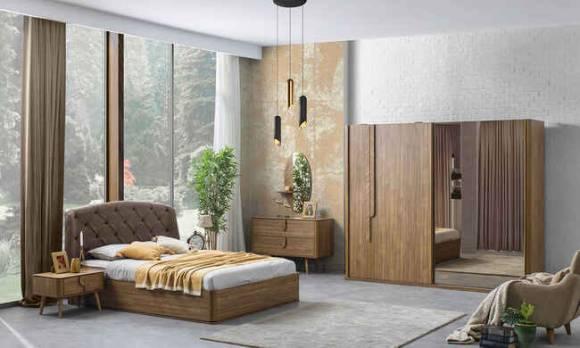 Evmoda Mobilya - Curve Modern Yatak Odası Takımı