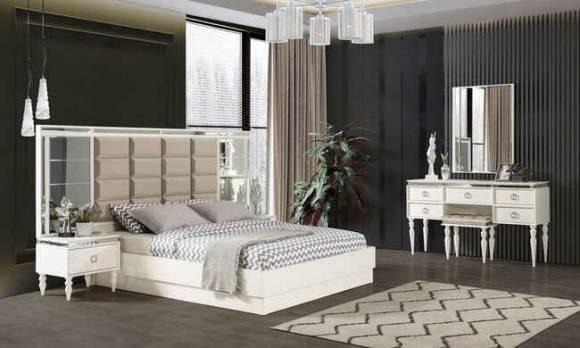 Evmoda Mobilya - Diamond Art Deco Yatak Odası Takımı