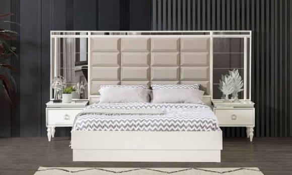 Evmoda Mobilya - Diamond Art Deco Yatak Odası Takımı (1)