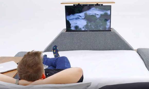 Evmoda Mobilya - Dream Tv Mekanizmalı + Masajlı Karyola (1)