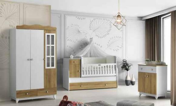 Evmoda Mobilya - Efsane Bebek Odası Takımı