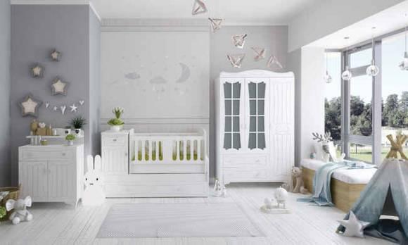 Evmoda Mobilya - Elegance Bebek Odası Takımı