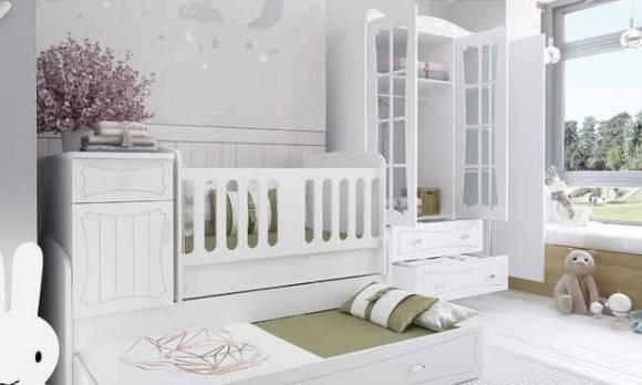 Evmoda Mobilya - Elegance Bebek Odası Takımı (1)