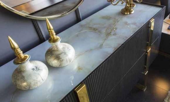 Evmoda Mobilya - Elegante Konsol ve Aynası (1)