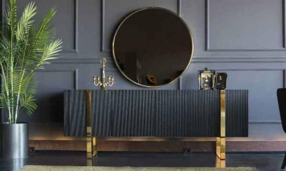 Evmoda Mobilya - Elegante Konsol ve Aynası