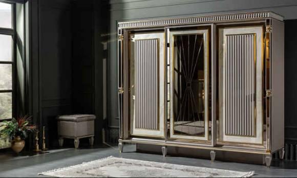 Evmoda Mobilya - Estonya Art Deco Yatak Odası Takımı (1)